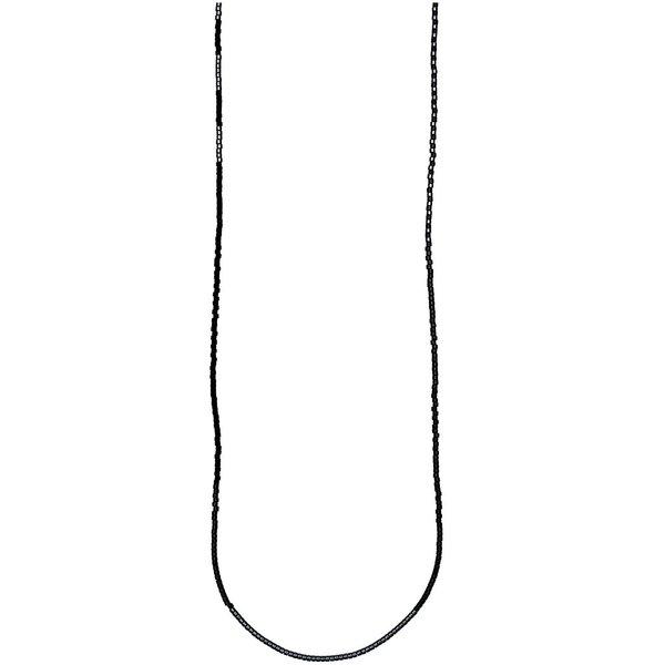 Jewellery Made by Me Kette itoshii beads schwarz-grau 65cm