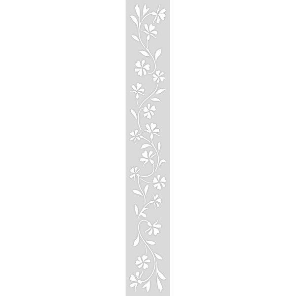 Rico Design Schablone Ranke 10,5x70cm selbstklebend