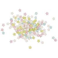 Rico Design Dekor Sterne Pastell Mischung 60g