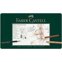 Faber Castell Pitt Monochrome Zeichenset 33teilig
