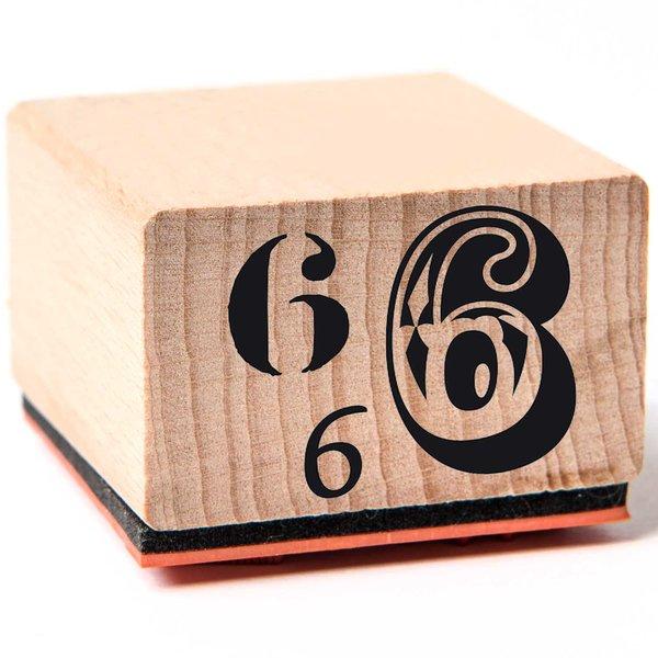 Rico Design Stempel 6 3,5x3,5cm