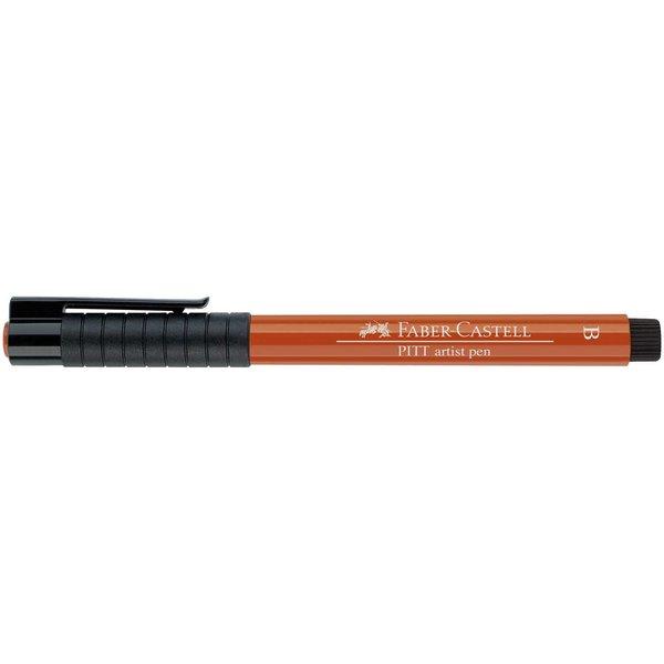 Faber Castell PITT artist pen brush Pinselspitze rötel