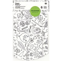 Paper Poetry Geschenkschachteln zum Ausmalen 6 Stück