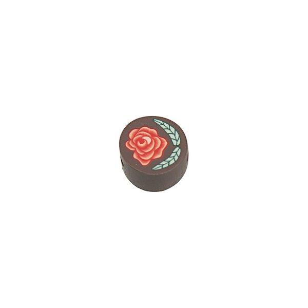 Jewellery Made by Me Kugel Rose rot 10mm 6 Stück