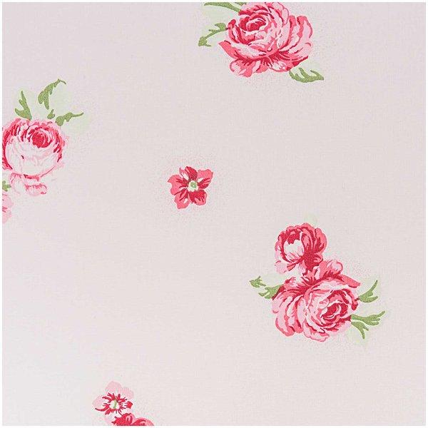Rico Design Stoff Rosen rosa 50x160cm