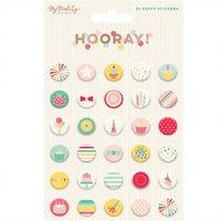 MyMindsEye Hooray - Puffystickers