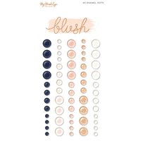 MyMindsEye Blush - Enamel Dots