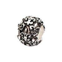 Rico Design Perle französische Lilie versilbert 13x9 mm