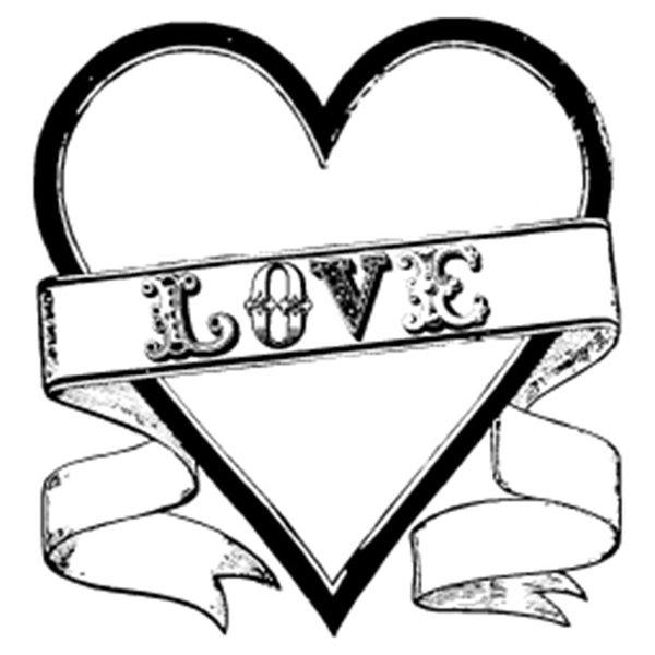 Rico Design Stempel Love 9x9cm