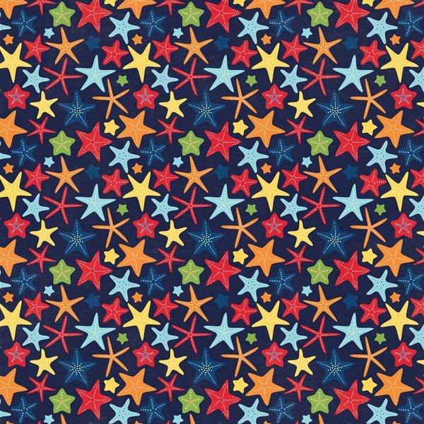 MyMindsEye Scrapbooking Bogen Under the Sea Starfish 30,5x30,5cm