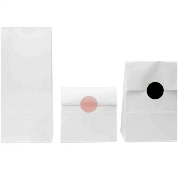 Rico Design Blockbodenbeutel Kraftpapier 150x300x80mm