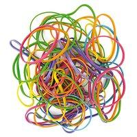 Paper Poetry Gummibänder mehrfarbig 45g