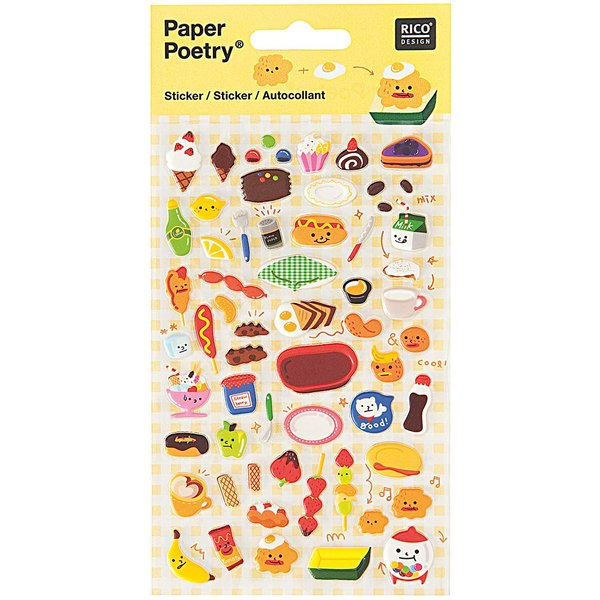 Paper Poetry Sticker Dessert
