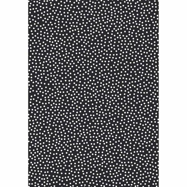 MARPA JANSEN Faltblätter transparent Punkte weiß 15x15cm 32 Stück