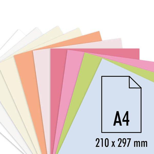 Artoz Perga pastell Bogen A4 100g/m² 5 Stück