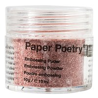 Paper Poetry Embossingpuder rot perlmutt 10g