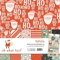MyMindsEye Oh What Fun - Paper & Accessories Kit