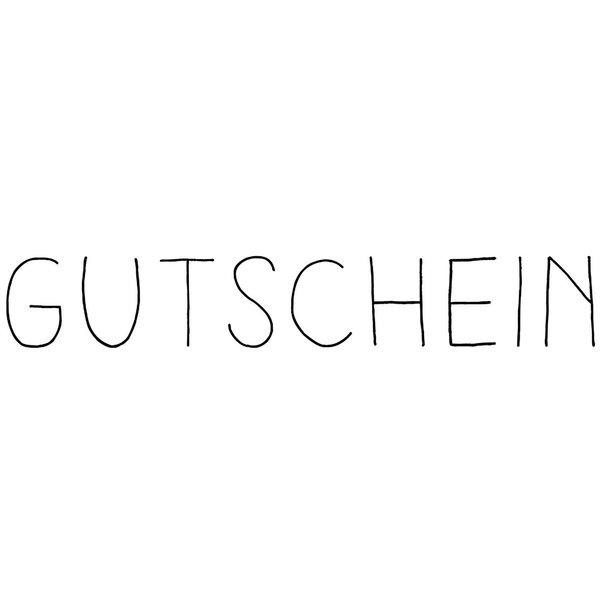 Rico Design Stempel Gutschein 7,5x2cm