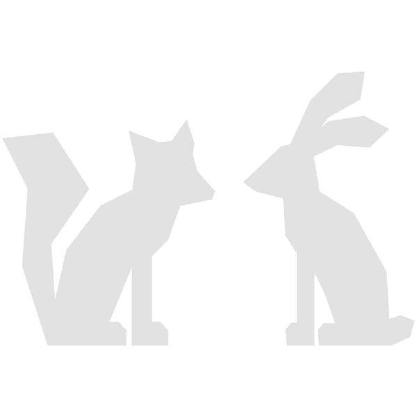 Rico Design Cardboardset Fuchs und Hase 6 Stück