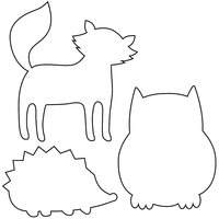 Rico Design Keksausstecher Tiere 3 Stück