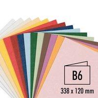 Artoz Serie 1001 Doppelkarten B6 220g/m² 5 Stück