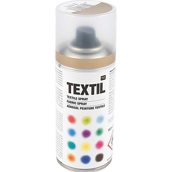 Rico Design Textil Spray gold 150ml
