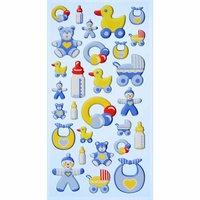 HobbyFun SoftySticker Baby Boy blau 17,5x9cm