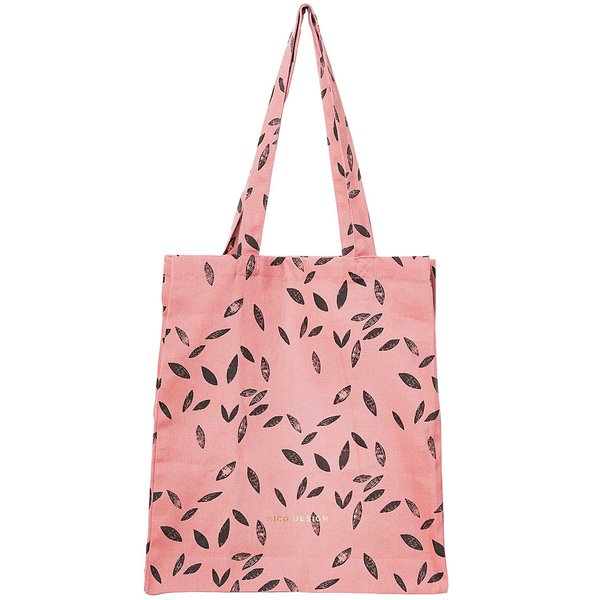 Rico Design Canvas-Shopper rosa 38x45x10cm