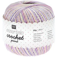 Rico Design Essentials Crochet Print mix 50g 260m
