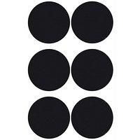 Paper Poetry Tafelfolien Sticker Kreise schwarz klein 6 Stück