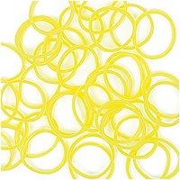 Jewellery Made by Me Loom Bänder neongelb ca. 200 Stück