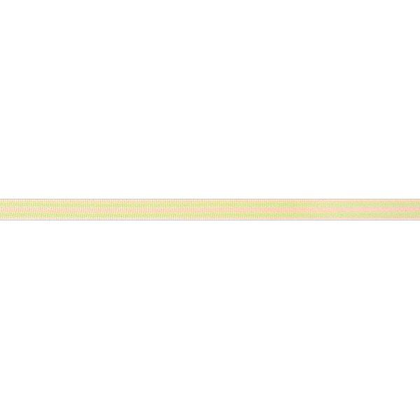 Rico Design Ribbon Streifen gelb-grün 2m