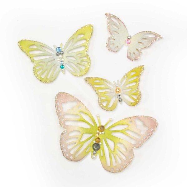 Sizzix Thinlits Die Set Winged Beauties