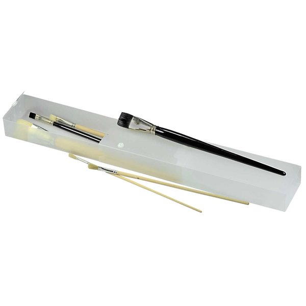 RUMOLD Pinselbox mit Belüftungslöchern 36x8x4cm