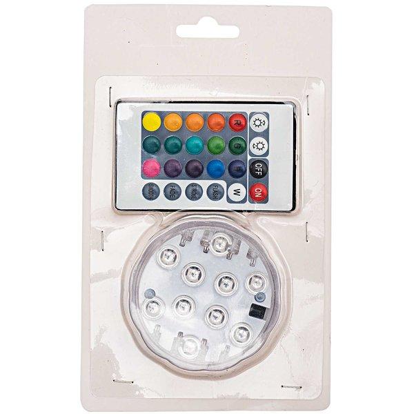 LED-Licht Multicolour mit Fernbedienung