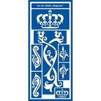 KREUL Motiv-Schablone selbsthaftend Elegance 13x28cm