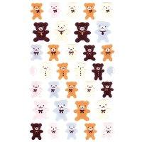 Paper Poetry Filzsticker Teddybären 10x19cm