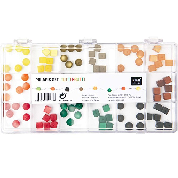 Rico Design Polaris Set tutti frutti 108teilig