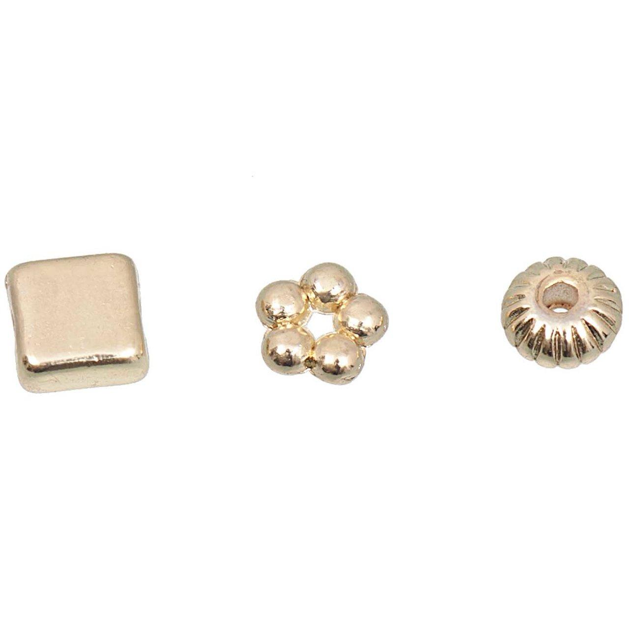 Jewellery Made by Me Perle gold 3 versch. Desig...